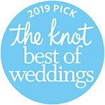 The Knot Best of Wedding Award Recipient 2019