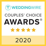 Wedding Wire Couple Choice Award Recipient 2020