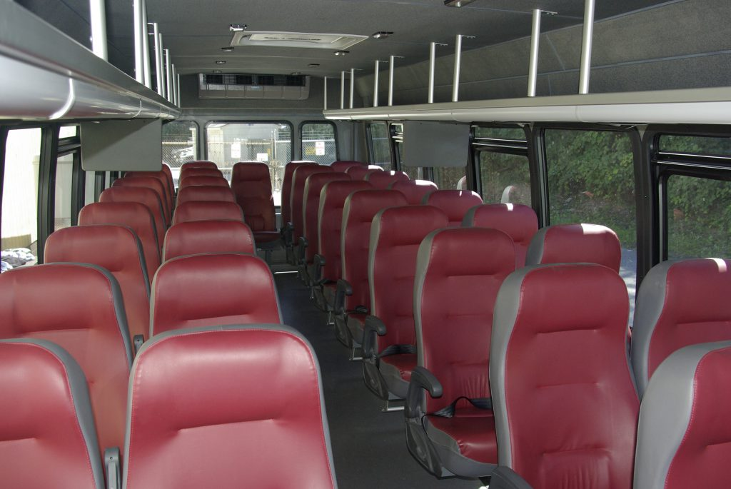 Interior of 39 Passenger Bus The Senator